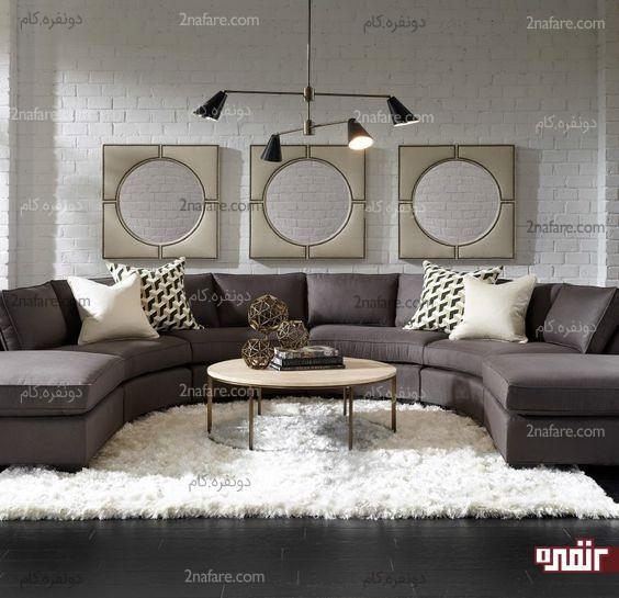 شیک ترین و زیباترین کاناپه های مدرن در دکوراسیون داخلی