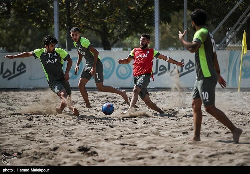 پیروزی تیم ملی فوتبال ساحلی در آخرین دیدار دوستانه