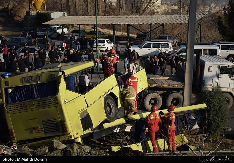 در پی واژگونی اتوبوس دانشگاه آزاد؛ پزشک پرسپولیس: برای پسرم دعا کنید