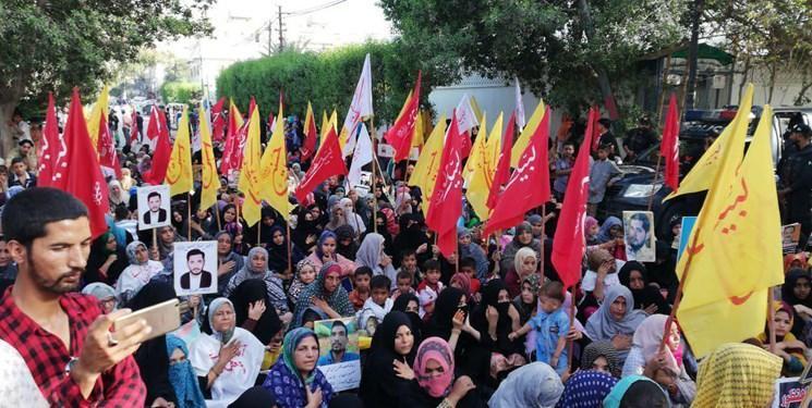 تحصن شیعیان پاکستان مقابل منزل رئیس جمهور