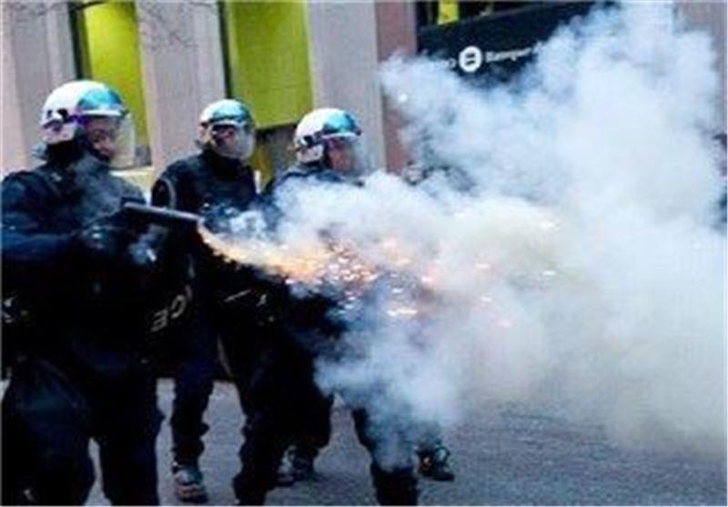پلیس کانادا بیش از 240 معترض را در مونترال دستگیر کرد