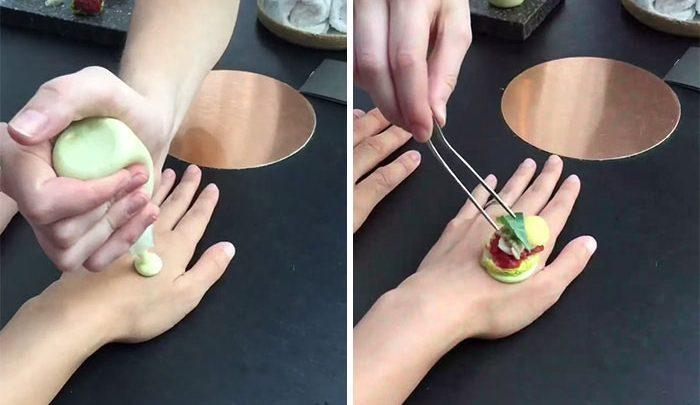 عجیب ترین راههای سِرو غذا در رستورانها ، تصاویر