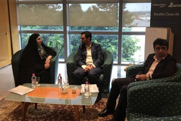 جهرمی به مالزی سفر کرد، پیگیری برقراری ارتباط بانکی دو کشور