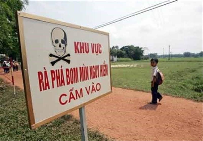 2 کودک در اثر انفجار نارنجک بجامانده از جنگ ویتنام کشته شدند