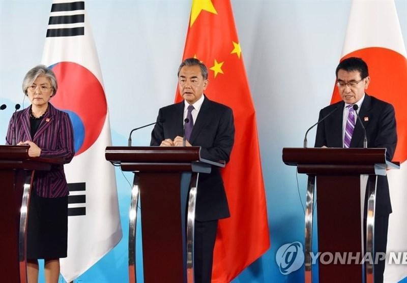 نشست سه جانبه وزرای خارجه چین، ژاپن و کره جنوبی در پکن