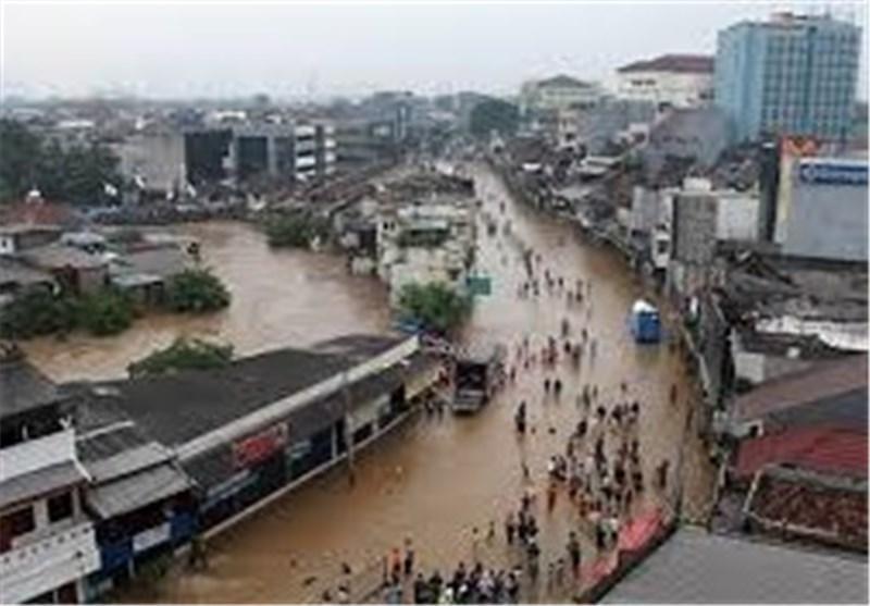 23 کشته درپی وقوع سیل در اندونزی