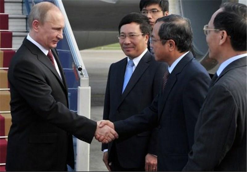 گسترش روابط تجاری هدف ورود پوتین به ویتنام