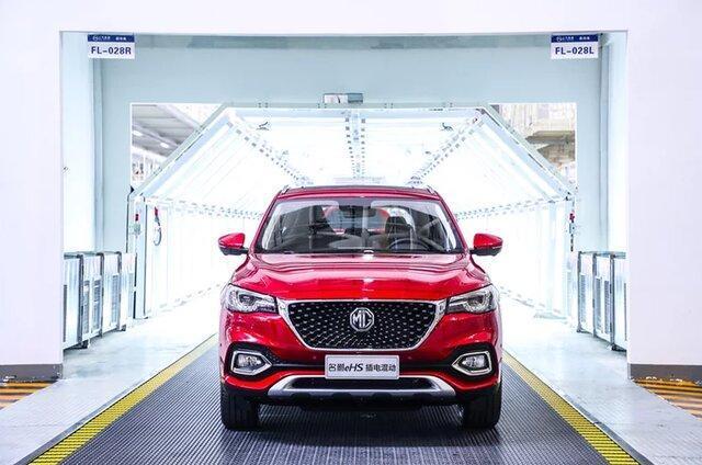 فراوری خودروهای پاک MG در چین برای صادرات به اروپا