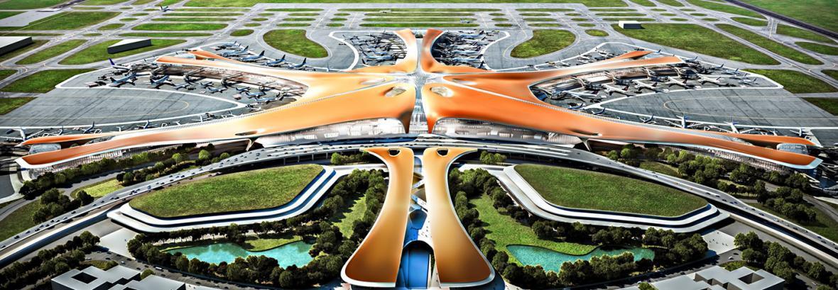 گشایش فرودگاه جدید پکن از سال 2019 ، ویدئویی از این فرودگاه بزرگ را ببینید