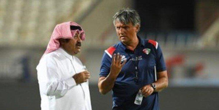 اولین قربانی انتخابی جام جهانی ، سرمربی کویت اخراج شد