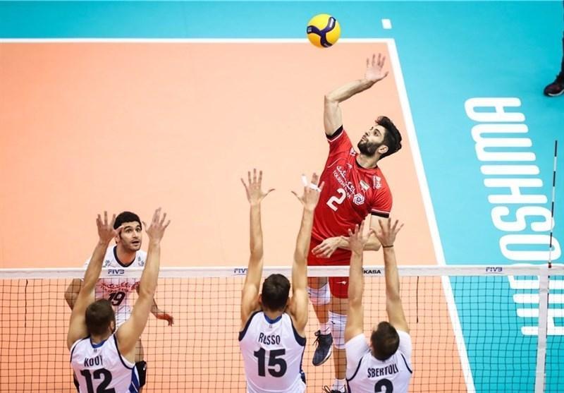 جام جهانی والیبال، عبادی پور امتیازآورترین بازیکن ایران شد، رجحان ایتالیا در اسپک و سرویس