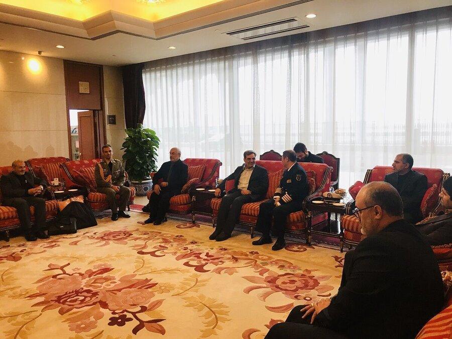 معاون ستاد کل نیروهای مسلح ایران به چین رفت