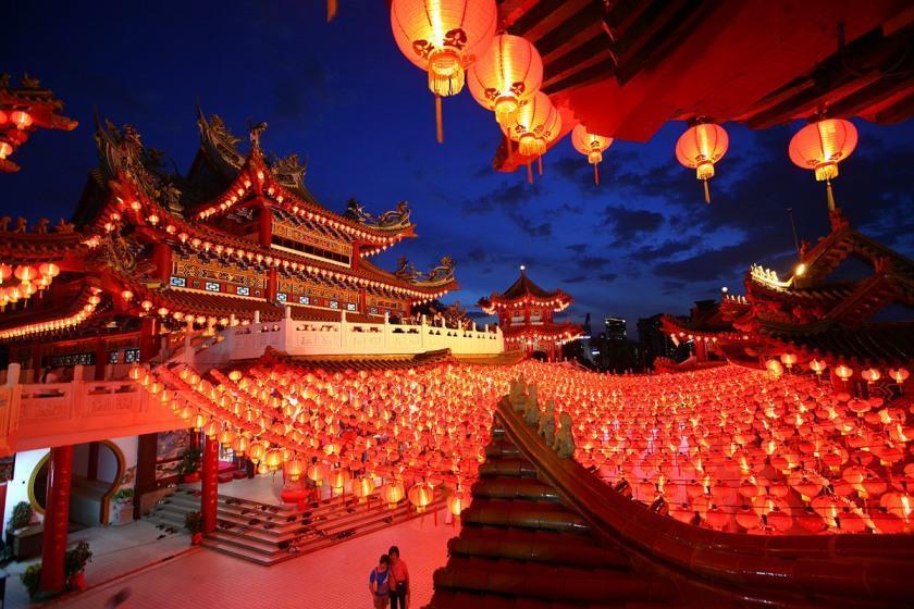 کریسمس و سال نو در چین