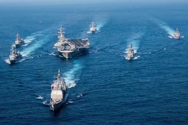 ناوهای جنگی آمریکا به سواحل اوکراین اعزام شدند