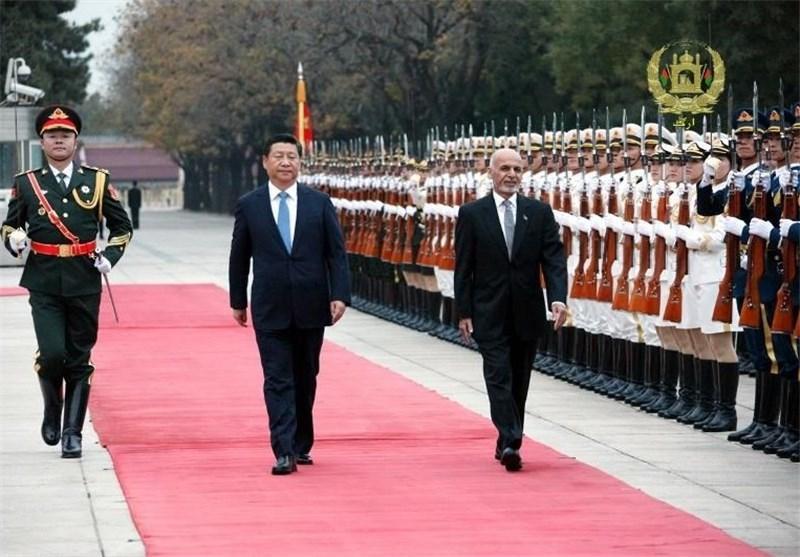 سفر رئیس جمهور افغانستان به چین از دریچه دوربین