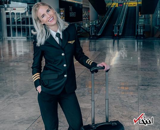 این خلبان هر روز تجارب سفر خود را با 500 هزار نفر در اینستاگرام به اشتراک می گذارد!