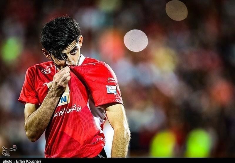 لیگ برتر فوتبال، پرسپولیس با یک پنالتی مقابل فولاد پیروز به رختکن رفت