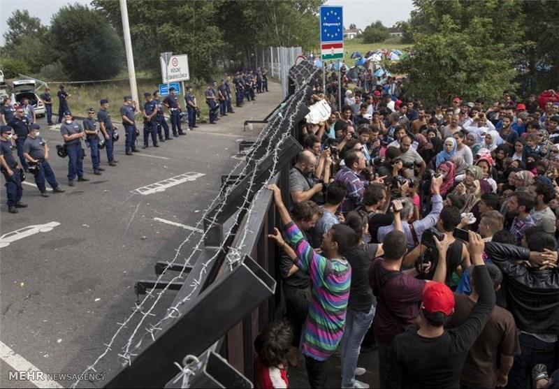تظاهرات صدها معترض به حصارکشی در مرز بین ایتالیا و اتریش