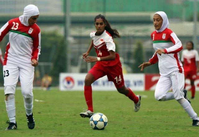 آخرین بازی تیم ملی فوتبال بانوان در مقدماتی آسیا