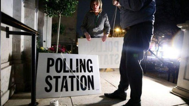 شروع انتخابات سراسری در بریتانیا