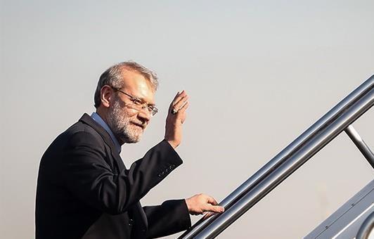 رئیس مجلس تهران را به مقصد ترکیه ترک کرد
