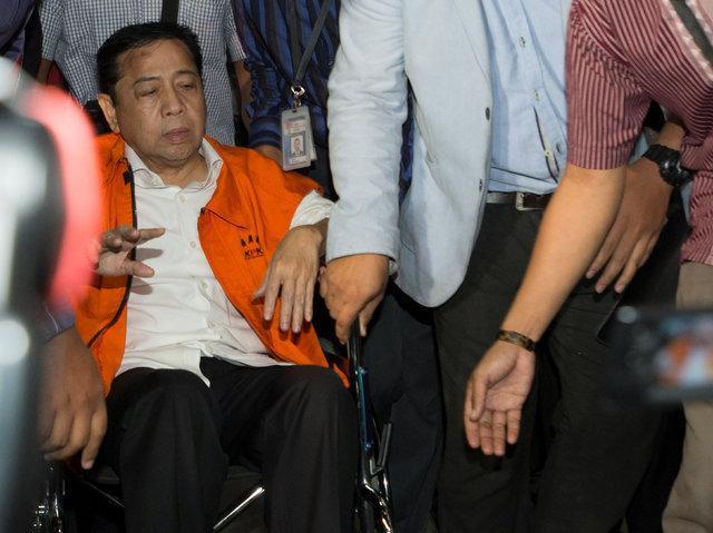 رئیس مجلس اندونزی به اتهام فساد بازداشت شد