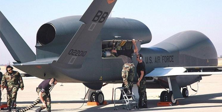 پرواز پهپاد جاسوسی آمریکا بر فراز شبه جزیره کریمه