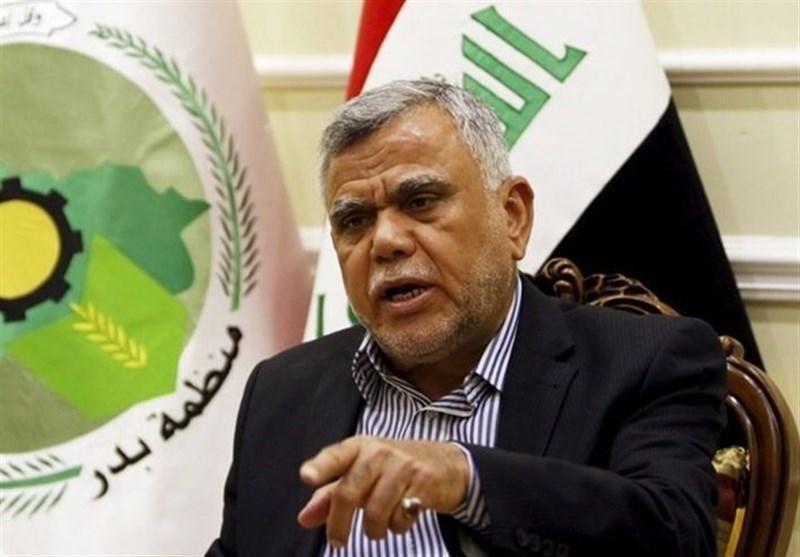 عراق، العامری: هدف از شلیک موشک به سمت سفارت آمریکا ممانعت از اخراج نیروهای بیگانه است