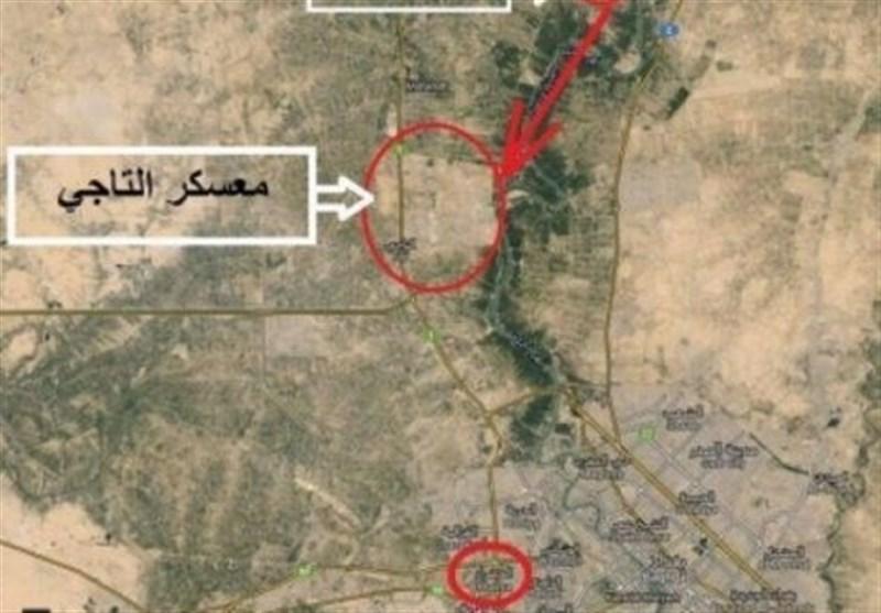 زخمی شدن 3 تروریست ائتلاف آمریکایی در حمله موشکی به التاجی