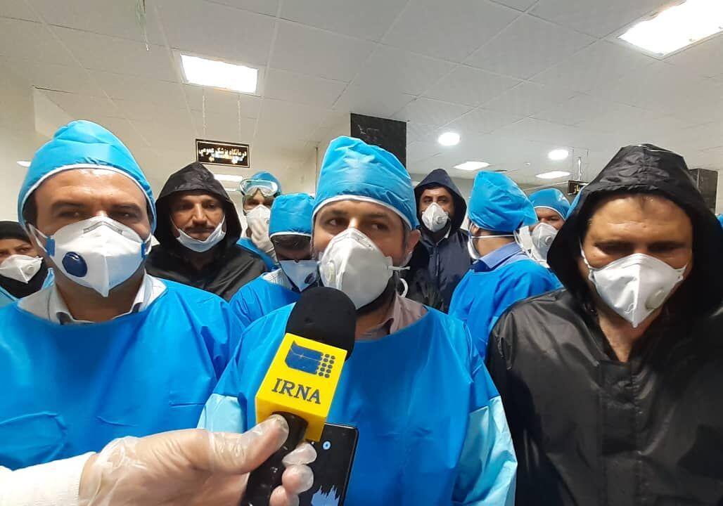 خبرنگاران سختگیری ها و تصمیم های جدید برای کنترل ویروس کرونا ابلاغ می گردد