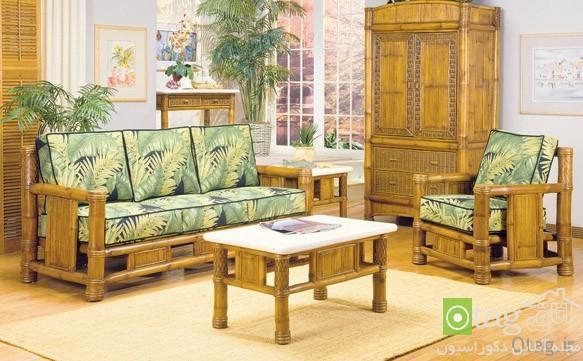 طراحی دکوراسیون منزل با گیاه بامبو ، تصاویر