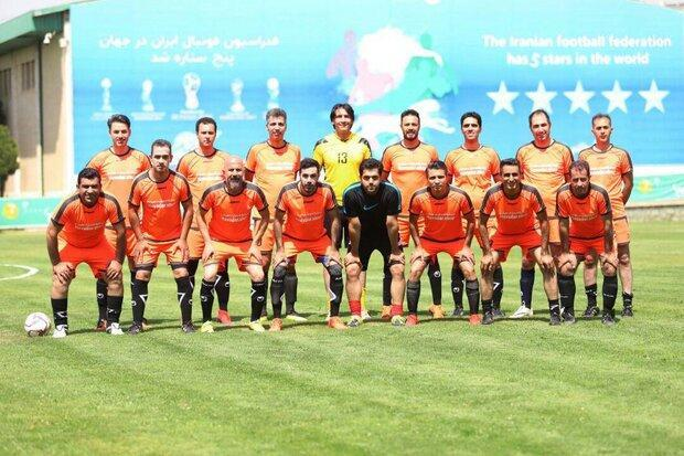 تساوی تیم فوتبال رسانه ورزش مقابل کارمندان فدراسیون فوتبال