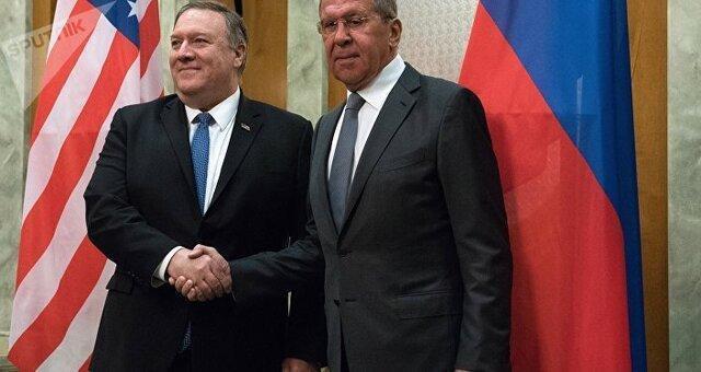 پامپئو به مسکو هشدار داد