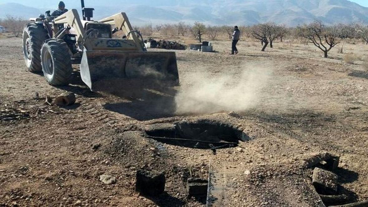 مسدود شدن 167 چاه غیر مجاز در کردستان