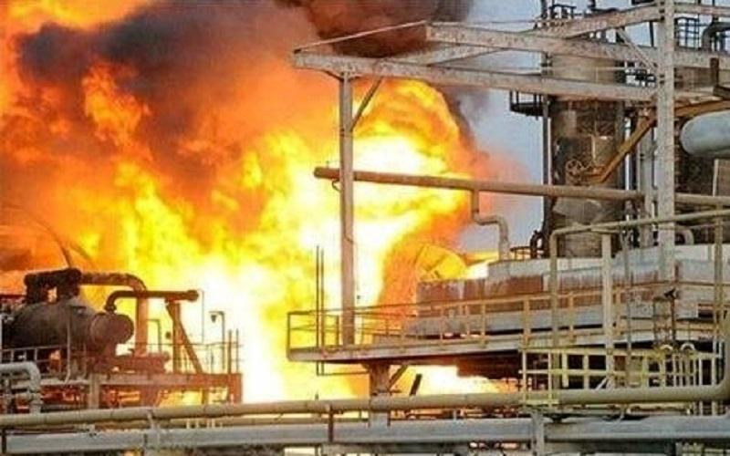 واحد آروماتیک پتروشیمی بندر امام دچار آتش سوزی شد ، آخرین خبر از مصدومان حادثه