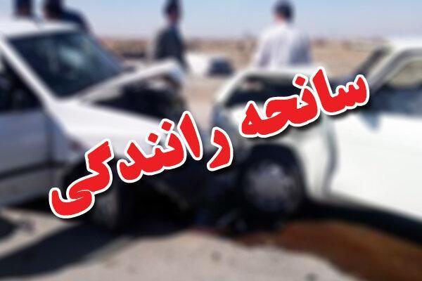یک فوتی در بزرگراه یاسینی بر اثر تصادف