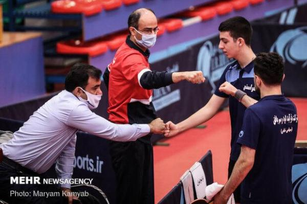 تنیس روی میز پس از 11 ماه با برگزاری لیگ از حالت رکود خارج شد
