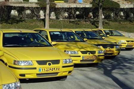 معاینه فنی تاکسی های تهران رایگان شد