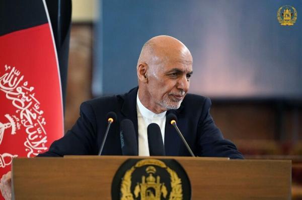 خبرنگاران پیشنهاد نقشه صلح افغانستان از سوی اشرف غنی در سه مرحله