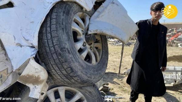 (تصاویر) فروش تجهیزات نظامی ارتش آمریکایی در افغانستان به عنوان آهن کهنه