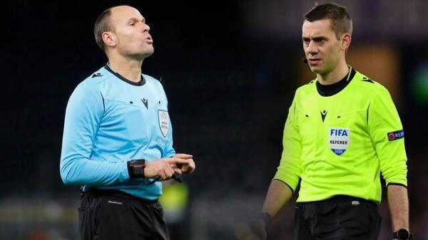 لاهوز داور فینال لیگ قهرمانان، تورپین فینال لیگ اروپا را سوت می زند