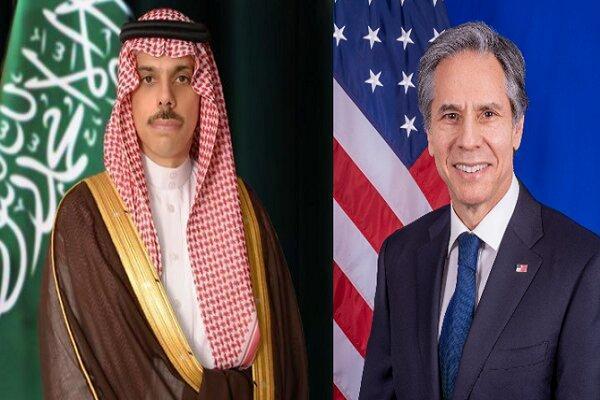 وزرای خارجه آمریکا و عربستان به صورت تلفنی تبادل نظر کردند