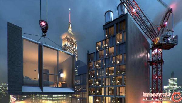 بلندترین هتل ماژولار دنیا